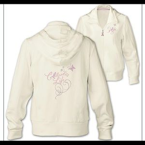 Celebrate Life Breast Cancer Hooded Jacket